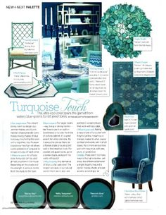 From Worlds Away, the Venus pendant light fixture is made of capiz shell in a round floral design. The turquoise green color is soft and modern and really catches your eye.  Place in powder room, entry way, office, or bathroom for unique round pendant that fits into any space.As seen in Traditional Home magazine.