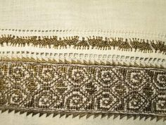 Folk Embroidery, Embroidery