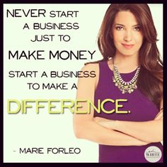 Marie Forleo, is the quirky business women. She is smart, determined, caring and…