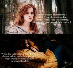 I hope we continue to have more strong female role models like Hermione for our girls in their formative years.