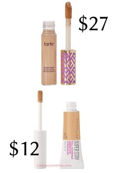 The best drugstore makeup dupes that will easily fit your budget. Armani Lip Magnet, Rms Beauty Living Luminizer, Maybelline Fit Me Concealer, Tarte Shape Tape, Make Up Dupes, Drugstore Makeup Dupes, Girly Things, Girly Stuff, Love Makeup