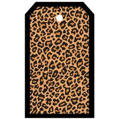 SYT Tag-UR-It Cheetah Print Photo Tag ($1.25) ❤ liked on Polyvore featuring tags