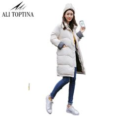 87497c92b0d Высокое качество Женская парка зимняя куртка пальто Для женщин Теплые  пуховики Лидер продаж Новинка 2017 года Зимняя коллекция Mf61 купить на  AliExpress