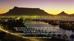is bringing the best gaming event to the most beautiful City in South Africa! Check out our website for more detail! I Am An African, Most Beautiful Cities, Former President, Cape Town, South Africa, Gaming, River, Website, Detail