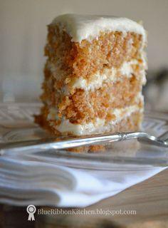 Blue Ribbon Kitchen: Prize-Winning Carrot Cake: Eating your Vegetables....