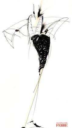 Fondazione Gianfranco Ferré / Collezioni / Donna / Prêt-à-Porter / 1995 / Autunno / Inverno