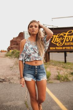 dba8ef2f0a4 Click to Shop ↞Apricot Lane Centennial↠ Hit The Road Apricot Lane,  Distressed Denim