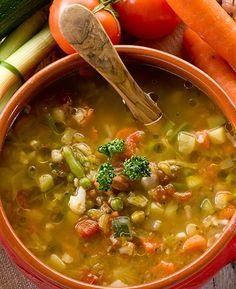 Discover hundreds of healthy vegetarian recipes from SkinnyMs. Our easy vegan & vegetarian recipes are perfect for plant-based diets and nutritious meals. Veggie Stew Recipes, Crock Pot Recipes, Healthy Recipes, Cooking Recipes, Lasagna Recipes, Healthy Meals, Veggie Soup, Slow Cooker Lentils, Winter Soups