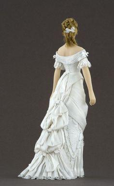 PERIOD: 1877-1879.  Ball dress