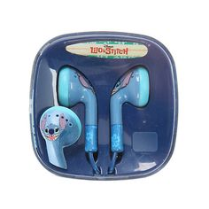 Disney Lilo Stitch Face Earbuds Hot Topic ($13) ❤ liked on Polyvore featuring disney