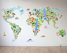 3 Cool World Map Decals To Get Kids Excited About Geography Travel