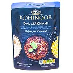 Buy Dal Makhani online from Spices of India - The UK's leading Indian Grocer. Free delivery on Dal Makhani - Kohinoor (conditions apply). Black Lentils, Rice Ingredients, Curry Paste, Creamy Sauce, Garam Masala, Naan, Spices