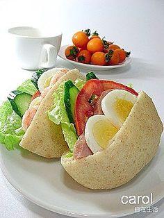 Carol 自在生活  : 口袋麵包  Pita