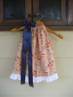 pillowcase Auburn dress on etsy.