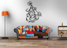 Goblin Fantasy Warrior Kids Man Cave Large Vinyl Wall Mural Decal, Interior Decor Stickers - 003G