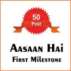 First Milestone of Aasaan Hai | आसान है ने हासिल किआ अपना पहला लक्ष्य