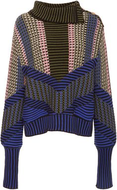 Peter Pilotto Intarsia-Knit Sweater