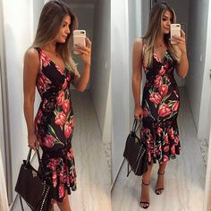 Vestido @zenoficial Eu e meu amor por estampas e midi • #lookdodia #ootd #selfie #blogtrendalert