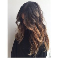 60 Balayage Hair Color Ideas with Blonde, Brown, Caramel and Red... ❤ liked on Polyvore featuring beauty products, haircare, hair styling tools and hair