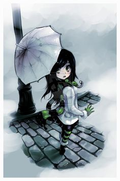 stroll in the cold by max cabrera - Illustrations by Max Cabrera  <3 <3