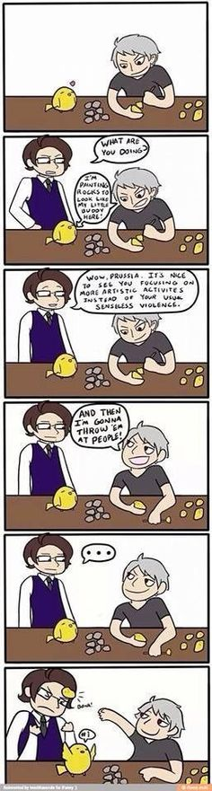 I would 100% do this as I am Prussia