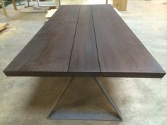 Table top in oak wood - Woodstyle. Tables, Dining Table, Furniture, Design, Home Decor, Mesas, Decoration Home, Room Decor, Dinner Table