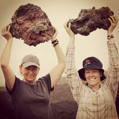 Be heroic #bemerrell #volcanicrock #galapagos #strong #hiking #toughwomen #fun photo by cathdan_g2