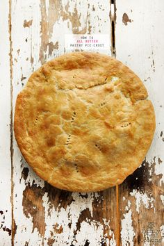 Butter Pastry Pie Crust | the ONLY recipe you will need for the perfect crust! FamilyFreshCooking.com