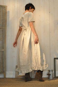 Milk maiden outfit.