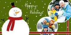 Mixbook Jolly Snowman Christmas Cards