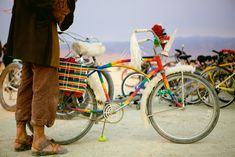Burning Man: Bikes Get your voice at http://www.Biketalker.com !