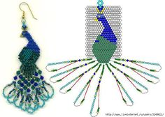 Gallery.ru / Фото #1 - Сборник. Серьги - COBECTb Diy Necklace Patterns, Beaded Earrings Patterns, Jewelry Patterns, Beaded Flowers Patterns, Beading Patterns Free, Bead Loom Patterns, Seed Bead Art, Seed Bead Jewelry, Jewelry Making Beads