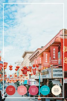 Looking for some bold colors to brighten up your home?Save this for a color palette inspired by San Francisco's Chinatown full of vivid shades ranging from red, pink to turquoise. #partner