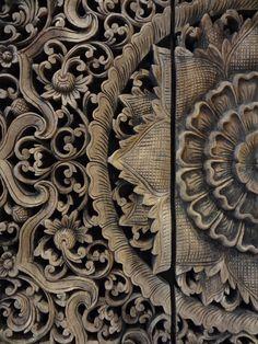 Houten paneel: Tempel plafond uit Thailand van PTMD. http://www.ptmd.nl/wanddecoratie