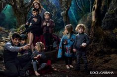 Ad Campaign: Dolce & Gabbana Fall/Winter Model: Bianca Balti Photographer: Domenico Dolce Hair: Oribe Make-up: Pat McGrath oohhh so cute Dolce & Gabbana, Dolce And Gabbana Shirts, Dolce And Gabbana Kids, Fashion Advertising, Advertising Campaign, Bianca Balti, Exclusive Clothing, Pat Mcgrath, Famous Models