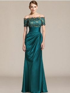 Modern Mother of the Bride Dresses_Teal