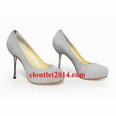 1b2d7f0d0fe Christian Louboutin Pumps grey upper Cheap Christian Louboutin, Louboutin  Pumps, Fashion Outlet, Wedges