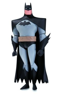 Custom Batman Animated Adventures Figure Chiffon Cape DC Collectibles