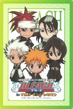 Studio Pierrot, Bleach, Renji Abarai, Ichigo Kurosaki, Rukia Kuchiki