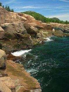 Acadia National Park, Maine. East Coast road trip is happening.