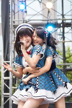 Hijiri Tanikawa (谷川聖) & Yui Yokoyama (横山結衣) - AKB48 Team 8 supported by Toyota