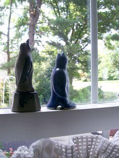 Piebirds in the window. (6/16/2012)