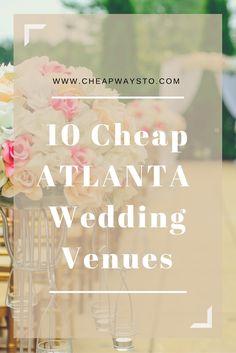 cheap atlanta wedding venues