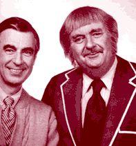 Mr. Rogers and Captain Kangaroo!