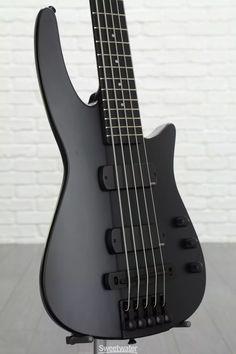 NS Design NXT5a Radius Bass Guitar - Black image 3 #bassguitar