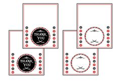 FREE Pirate Birthday Party Printables from Printabelle | Catch My Party