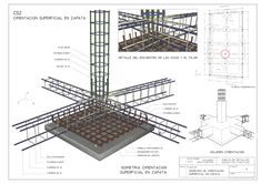 Steel Frame Construction, Construction Drawings, Construction Design, Civil Engineering Design, Civil Engineering Construction, Concrete Footings, Reinforced Concrete, Concrete Formwork, Building Systems