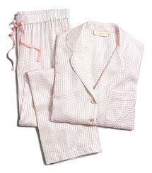 The Tory Burch Flora PJ set — a feminine take on the menswear classic Cozy Pajamas, Pyjamas, Flirty Pajamas, Satin Pyjama Set, Pajama Set, Womens Fashion Online, Latest Fashion For Women, Pajama Outfits, Cute Outfits