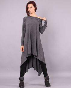 Hey, I found this really awesome Etsy listing at https://www.etsy.com/listing/203452184/sima-gray-extravagant-sweater-long-tunic
