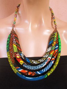 Hey, I found this really awesome Etsy listing at https://www.etsy.com/listing/155526657/african-statement-necklace-african-beads